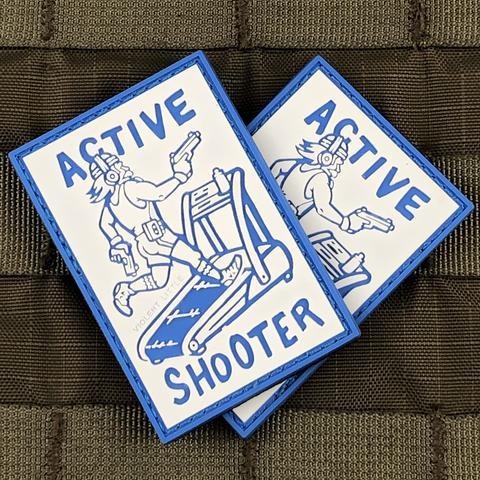Violent Little Machine Shop Violent Little Machine Shop Active Shooter Morale Patch