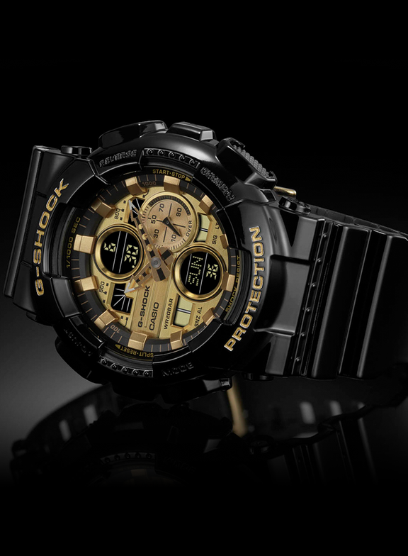 G-Shock G-Shock GA140GB-1A1 Analog-Digital Watch
