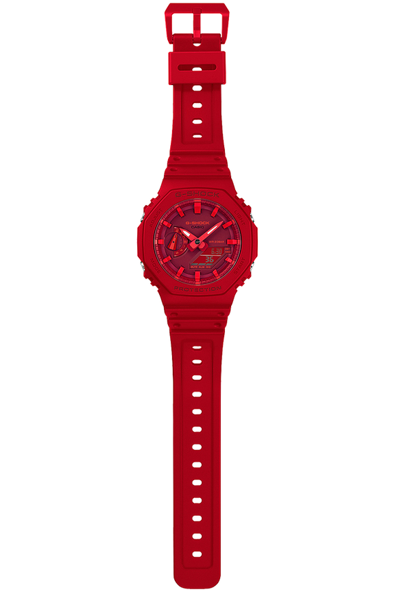 G-Shock G-Shock GA2100-4A Analog-Digital Watch (Red)