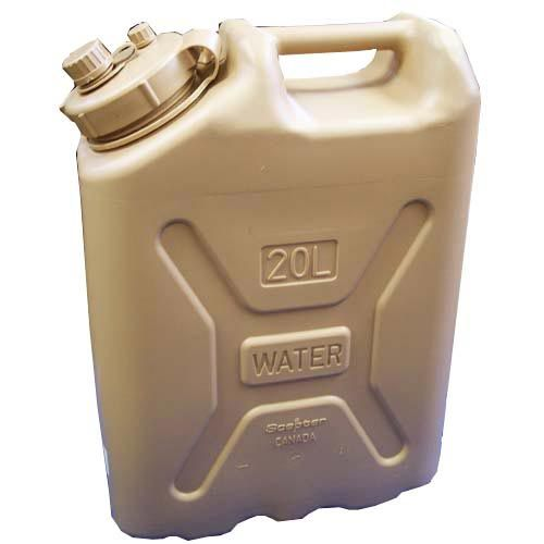 Scepter Scepter Military Water Can 20L Sand