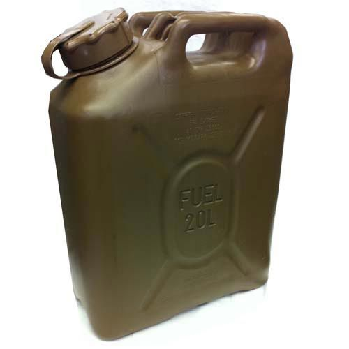 Scepter Scepter Military Fuel Canister 20L Gasoline/Diesel Field Drab
