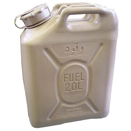 Scepter Scepter Military Fuel Canister 20L Diesel Sand with Arabic