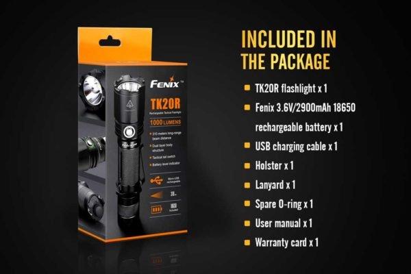 Fenix Fenix TK20R Rechargeable Flashlight