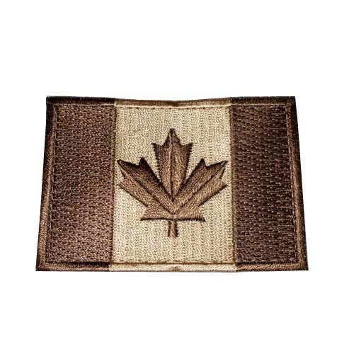 Custom Canadian Flag, Large, Tan
