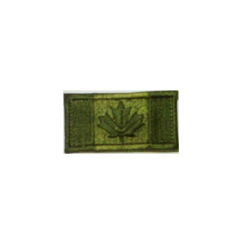 Custom Canadian Flag, Small, Olive Drab