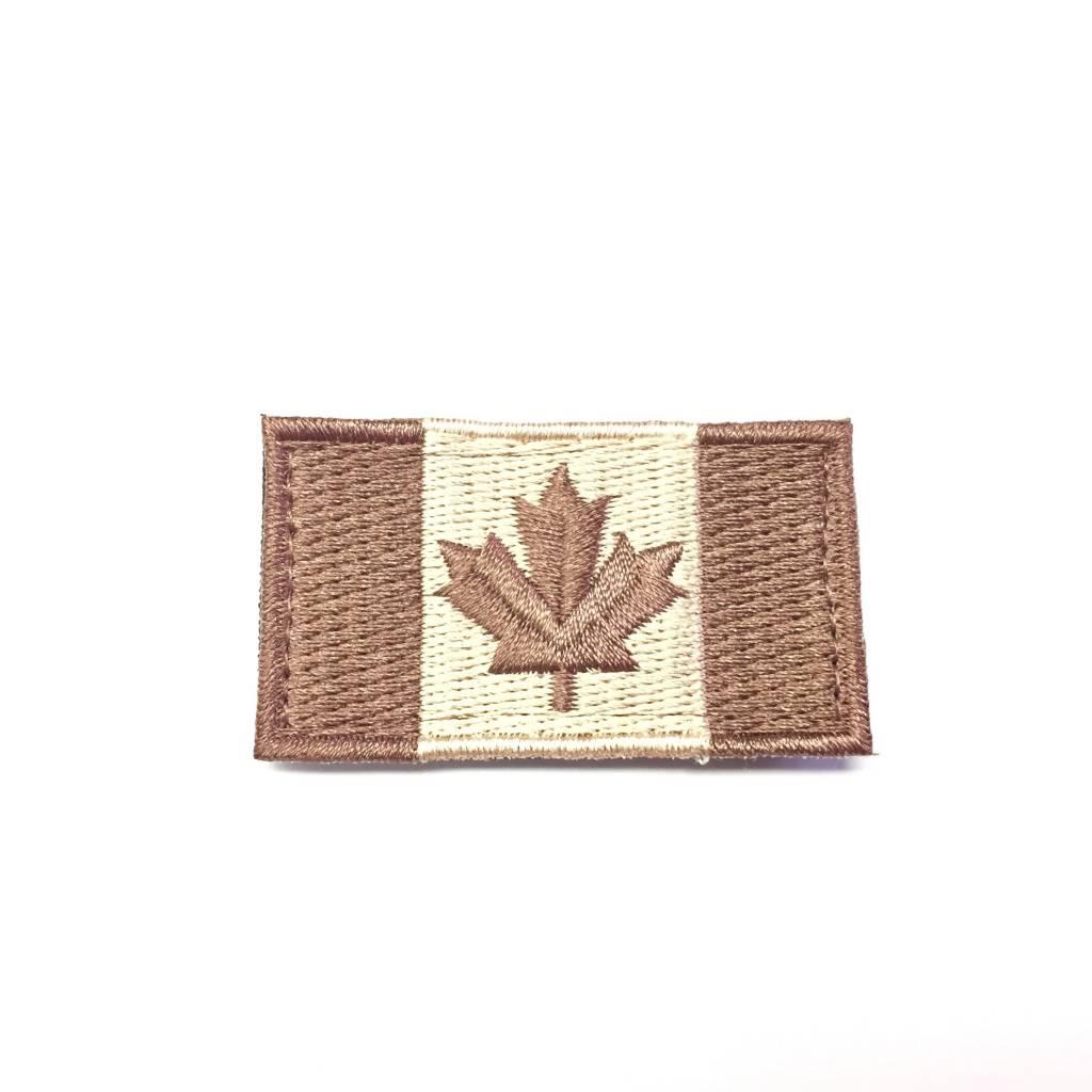 Custom Canadian Flag, Small, Tan