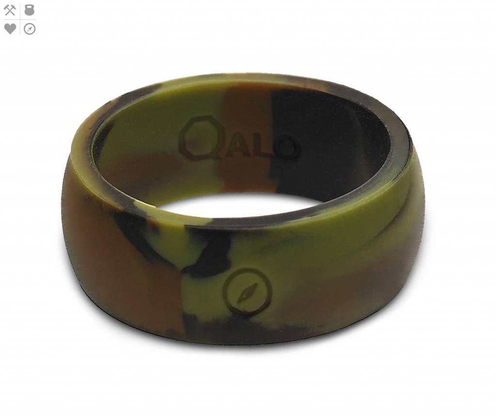 Qalo QALO Men's Silicone Ring, Camo