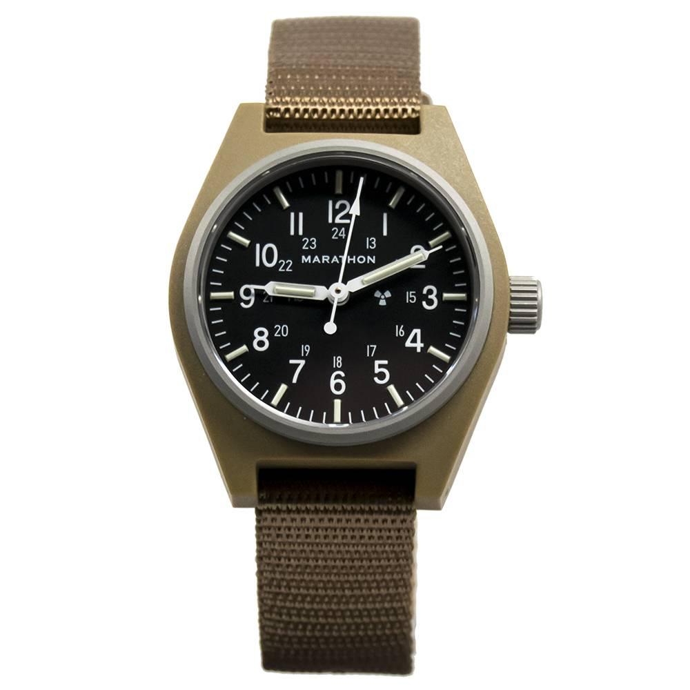 Marathon Watches Marathon Watches General Purpose Mechanical (GPM) Military Field Watch w/ Tritium