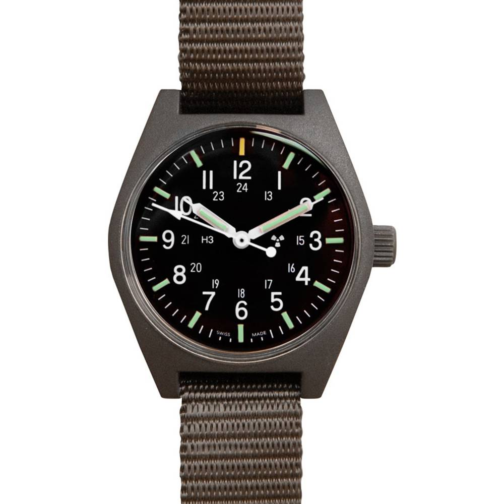 Marathon Watches Marathon Watches General Purpose Quartz - Swiss Made Military Field Army Watch w/ Tritium