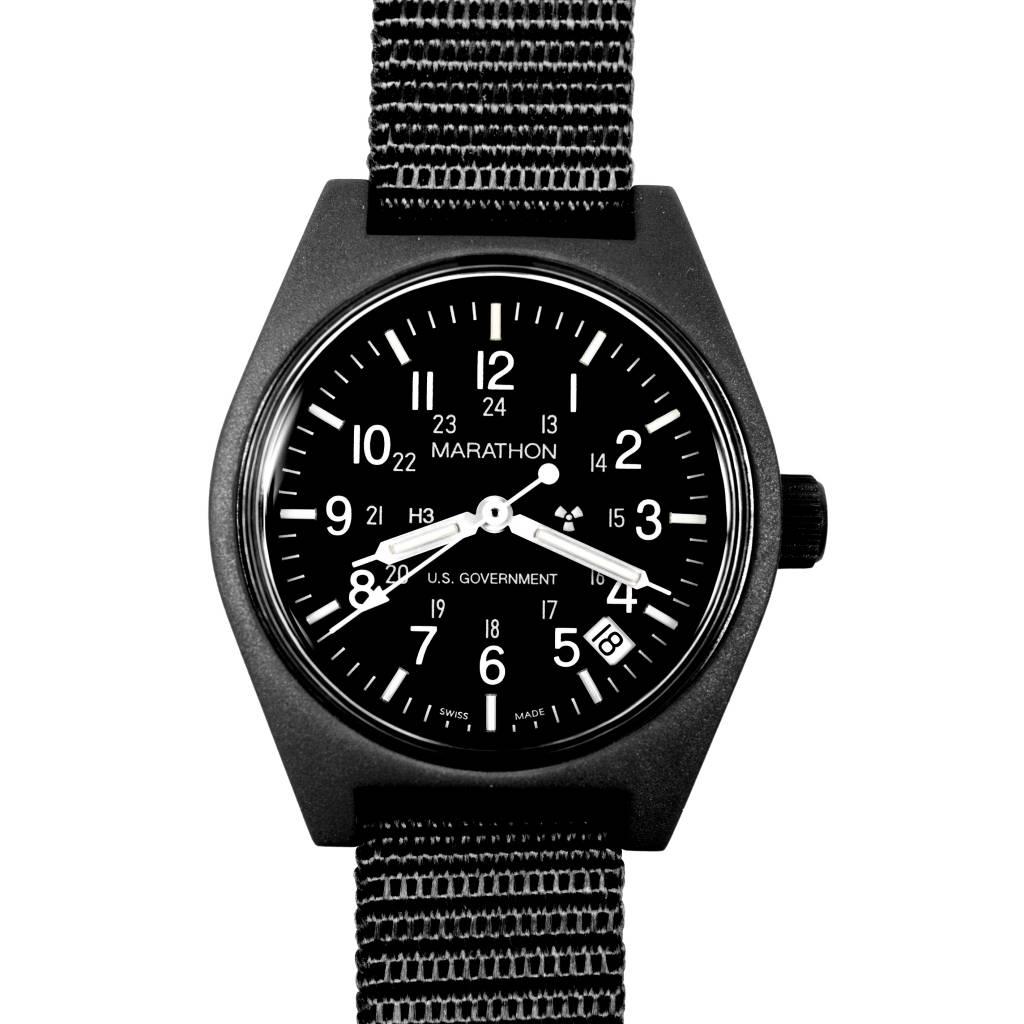 Marathon Watches Marathon Watches General Purpose Quartz w/ Date - Swiss Made Military Field Army Watch w/ Tritium