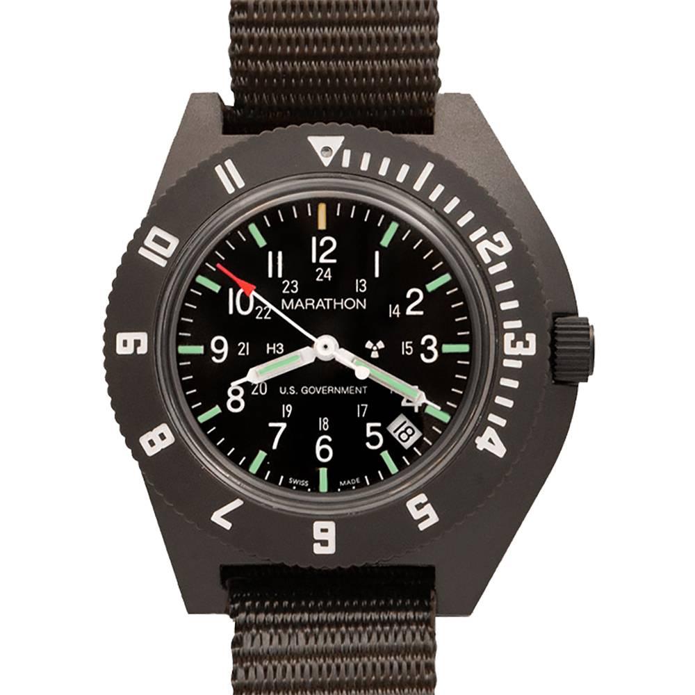 Marathon Watches Marathon Watches Swiss Made Military Issue Navigator Pilot's Quartz Watch w/ Date & Tritium