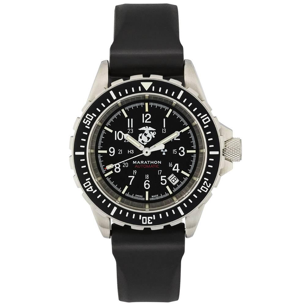 Marathon Watches Marathon Watches GSAR Swiss Made Military Issue Diver's Automatic Watch w/ US Gov't Dial & Tritium