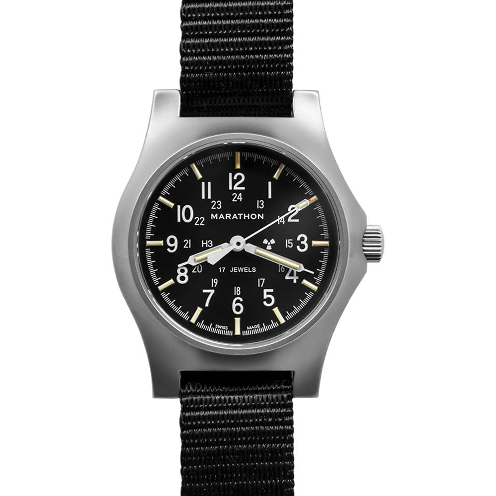 Marathon Watches Marathon Watches Swiss Made General Purpose Mechanical (GPM) Military Field Army Watch w/ ETA-2801 movement & Tritium