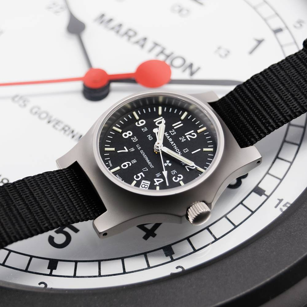 Marathon Watches Marathon Watches Swiss Made General Purpose Quartz w/ Date & Tritium
