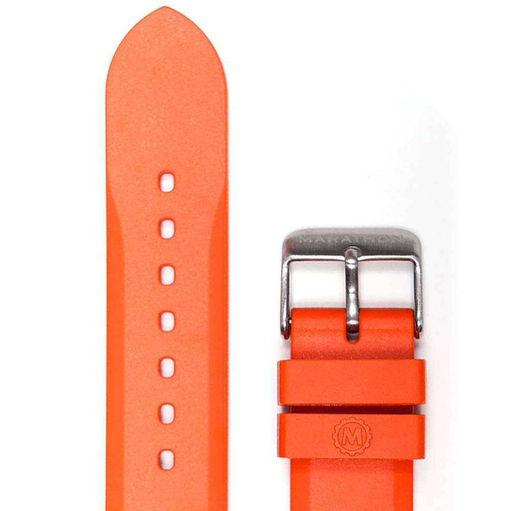 Marathon Watches Marathon Watches 20mm Vulcanized Rubber Watch Band/Strap