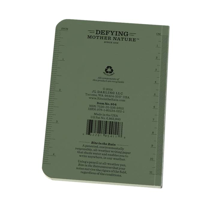 Rite in the Rain Rite in the Rain Field Flex Pocket Notebook (Side-Bound)