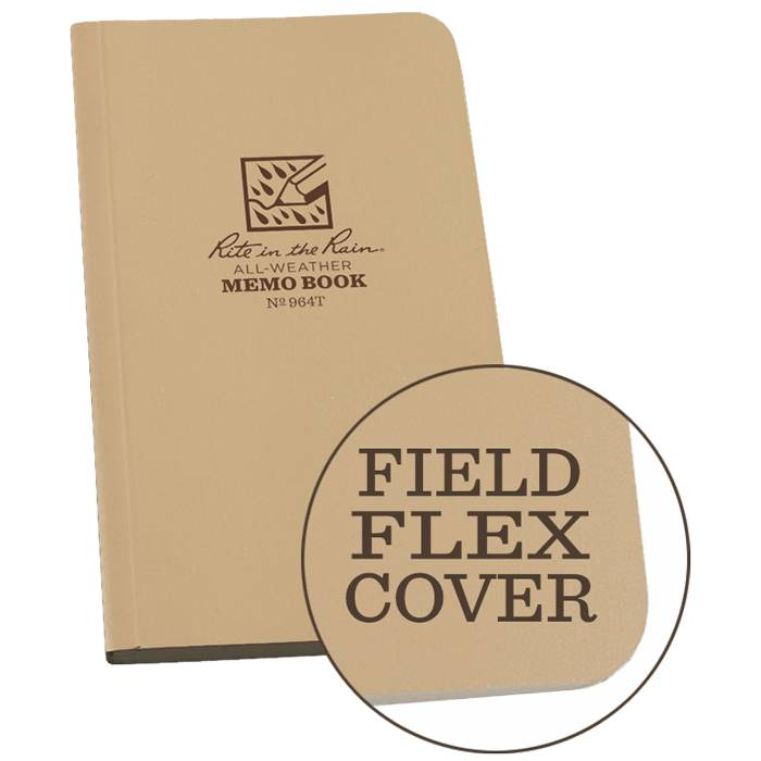 Rite in the Rain Rite in the Rain Tactical Field Flex Memo Book