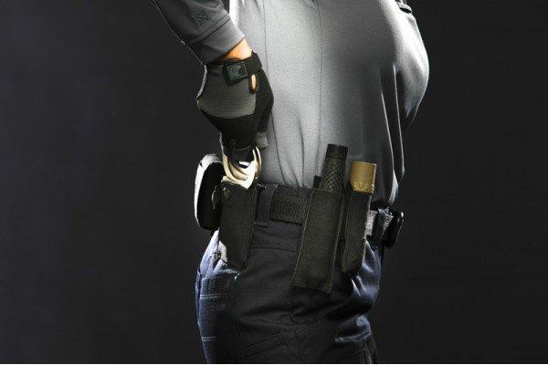 Blue Force Gear Blue Force Gear Belt Mounted Ten-Speed Hand Cuff Pouch With Adjustable Belt Loop, Black