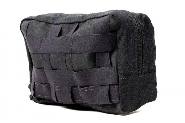Blue Force Gear Blue Force Gear Medium Horizontal Utility Pouch, Black