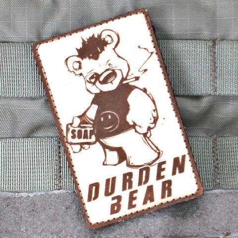 Violent Little Machine Shop Violent Little Machine Shop Durden Bear Fight Club Morale Patch