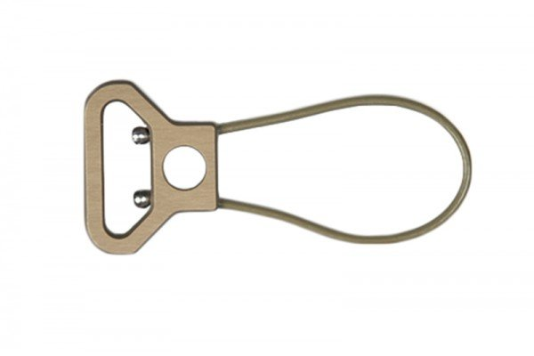 """Blue Force Gear Blue Force Gear Universal Wire Loop With Push Button Socket, 2.55"""" Length"""