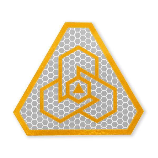 Prometheus Design Werx Prometheus Design Werx Logo SOLAS Morale Patch - Flame Orange