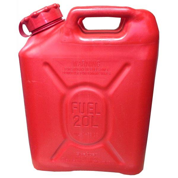 Scepter Scepter Military Fuel Canister 20L Gasoline Red