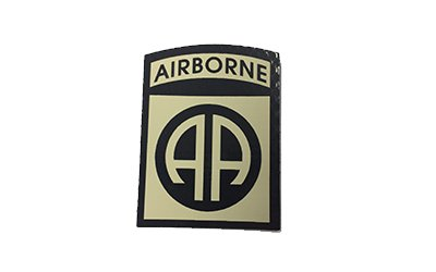 82nd Airborne Division IR Patch, Tan