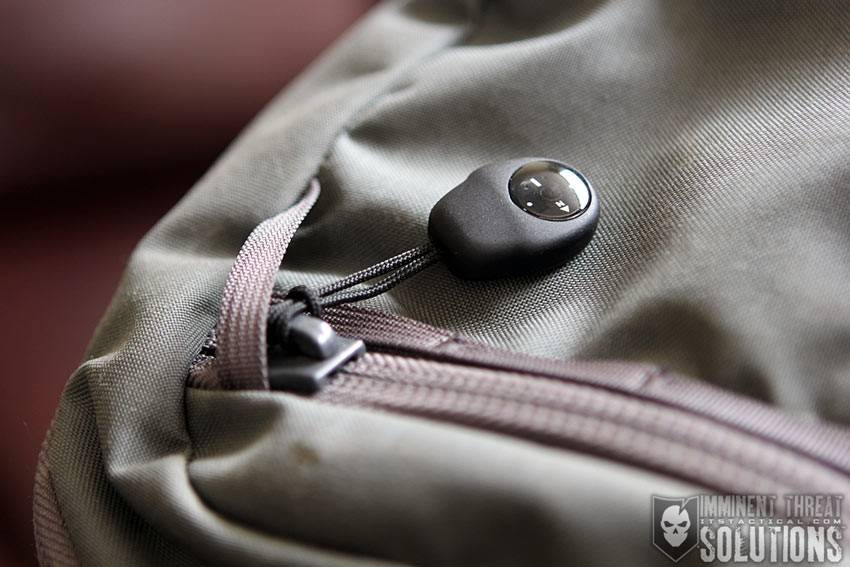 ITS Tactical ITS Tactical Compass with Zipper Pull, Black