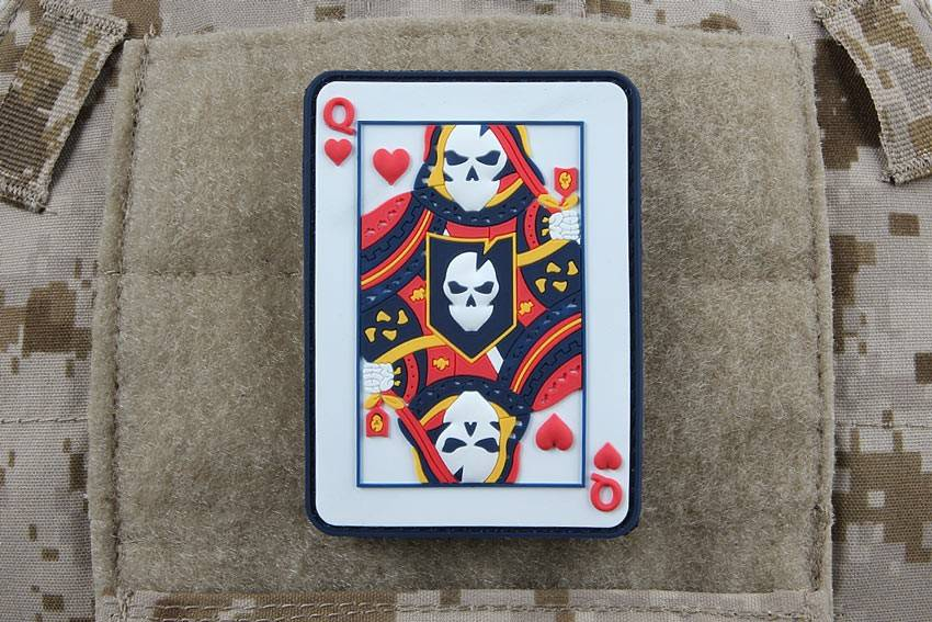 ITS Tactical ITS Tactical Queen of Heart PVC Patch
