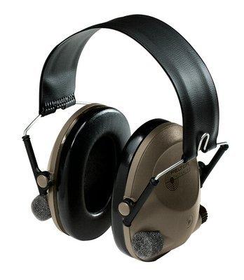 3M 3M Peltor Sound Trap Slimline Earmuff MT15H67FB, Tactical Electronic Headset Headband