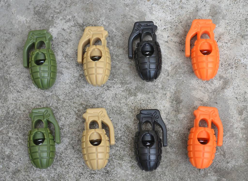 Custom Grenade Cord Lock