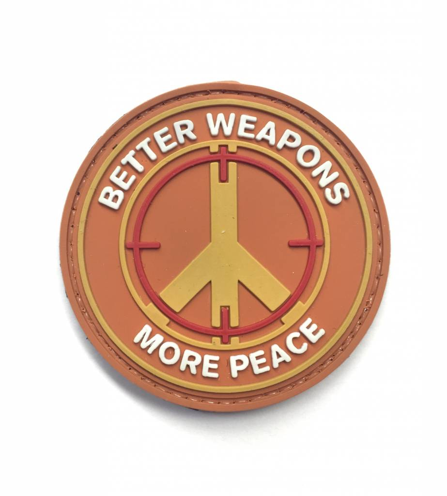 Custom Better Weapons PVC Patch