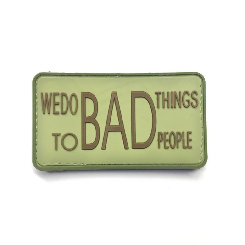Custom Bad Things PVC Patch