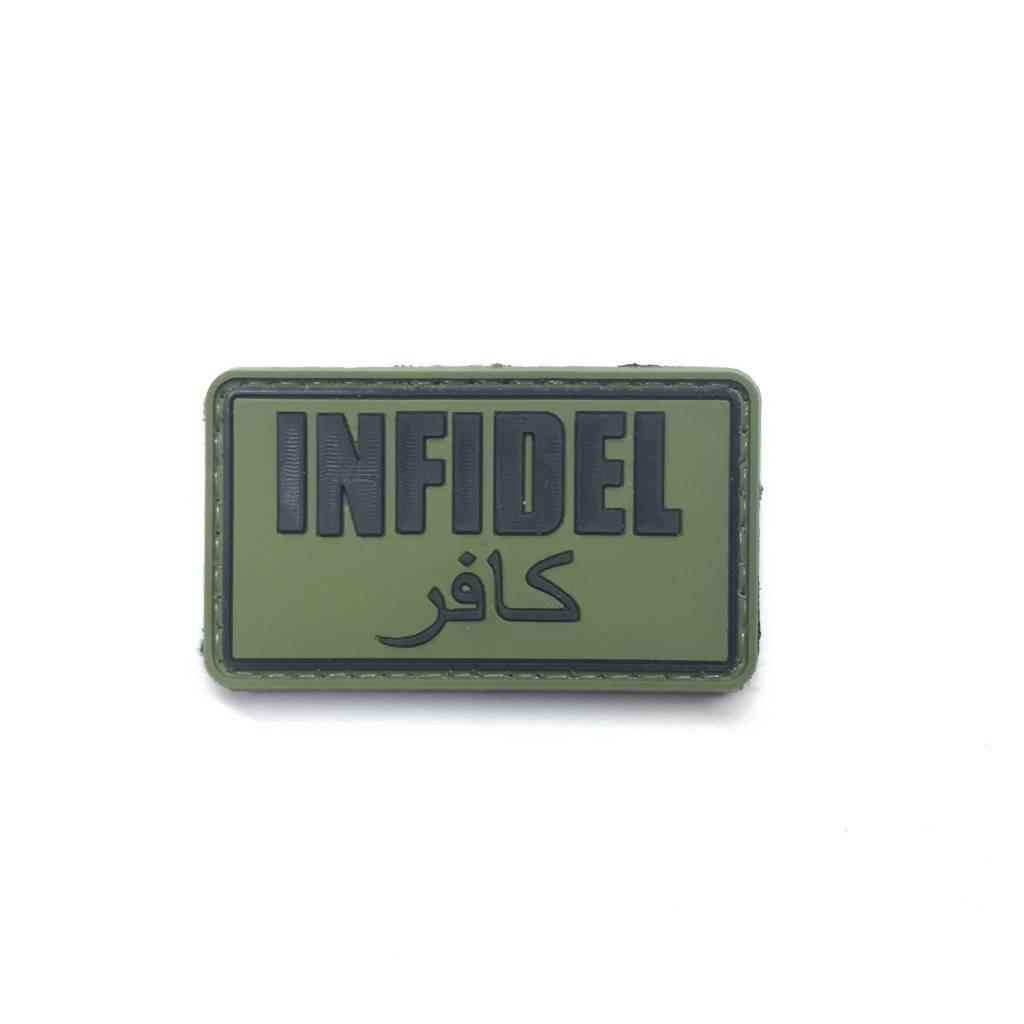 Custom Infidel PVC Patch
