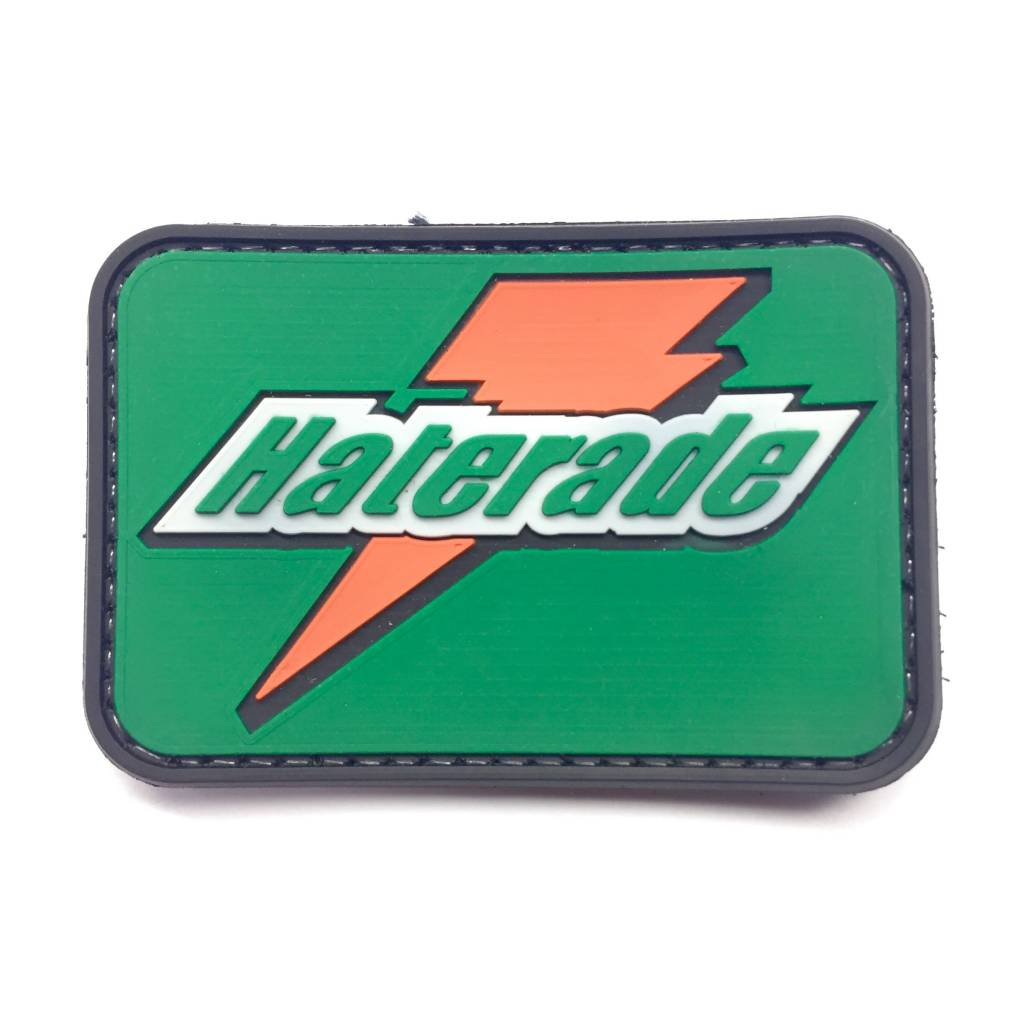 Custom Haterade PVC Patch