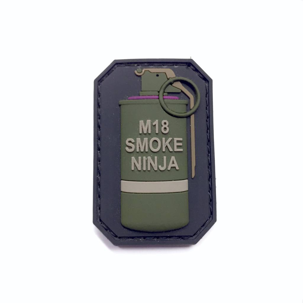 Custom M18 Smoke Ninja PVC Patch