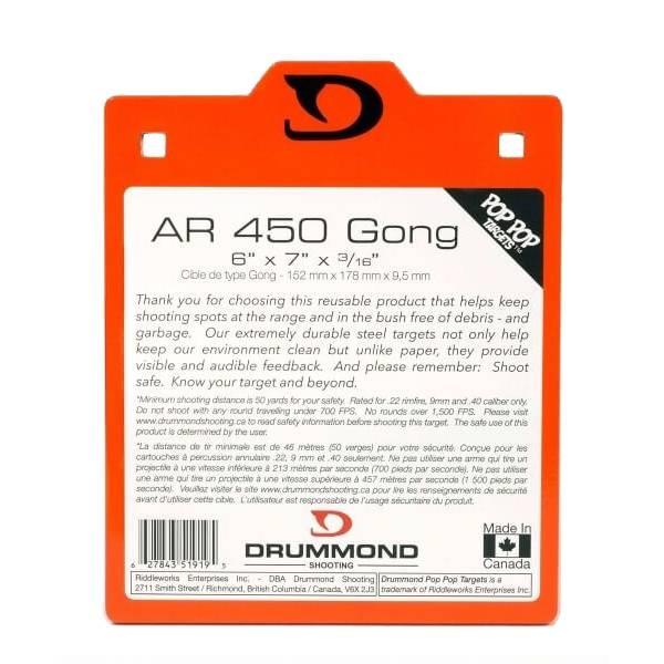Drummond Shooting Drummond Shooting Pistol Target - AR450