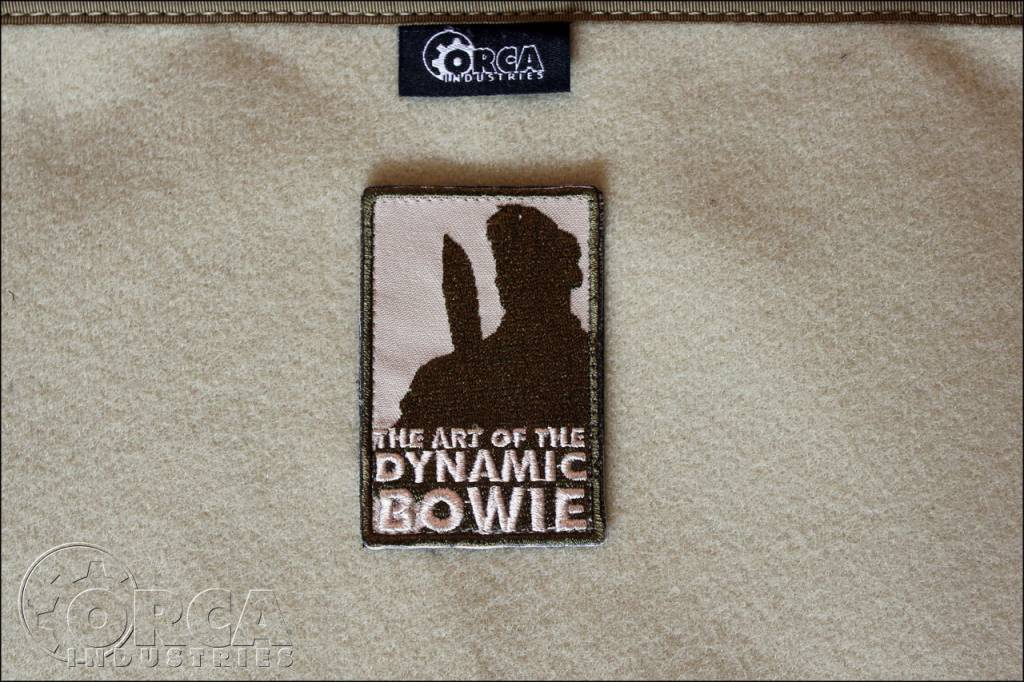 Orca Industries ORCA Art of the Dynamic Bowie Patch