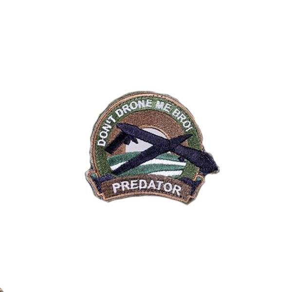 Orca Industries ORCA Don't Drone Me Bro Patch - Full Color