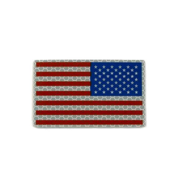 Cejay Engineering USA Reverse IR Flag, Large, RWB (Red/White/Blue)