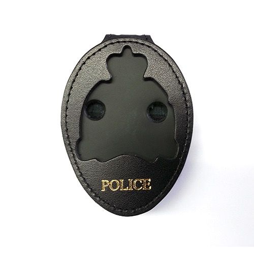 Perfect Fit Recessed Belt Clip Badge Holder with Imprint