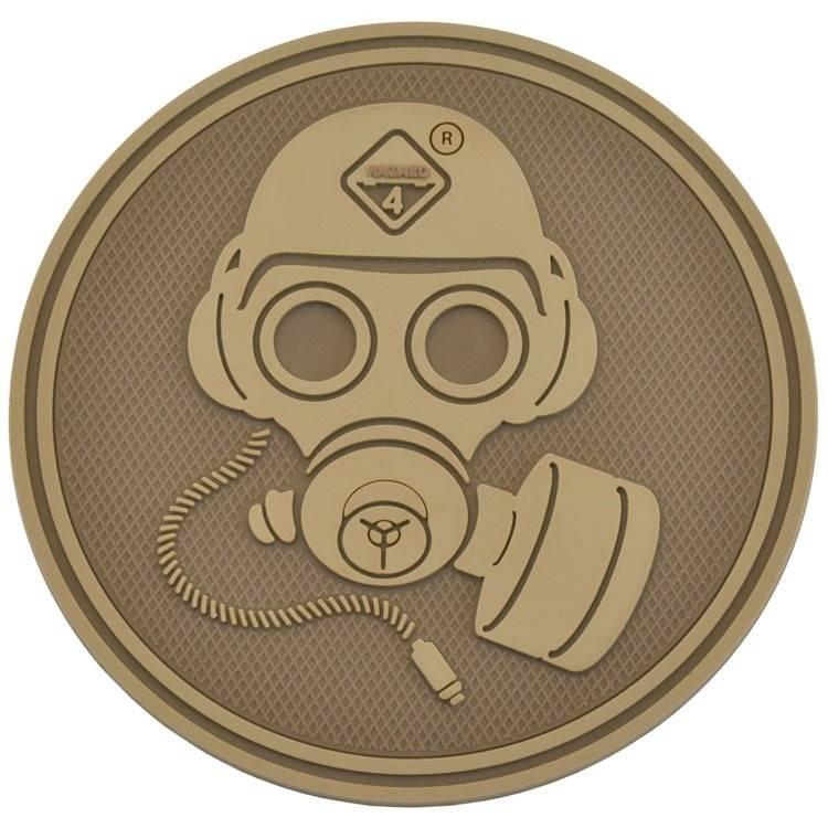 Hazard 4 Hazard 4 Special Forces Gas Mask™ rubber velcro patch