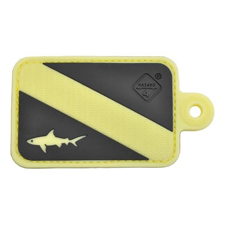 Hazard 4 Hazard 4 Dive Shark™ rubber velcro patch