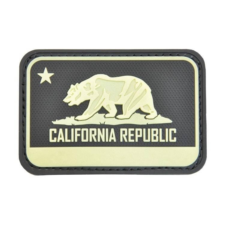 Hazard 4 Hazard 4 California Bear Flag™ rubber velcro patch