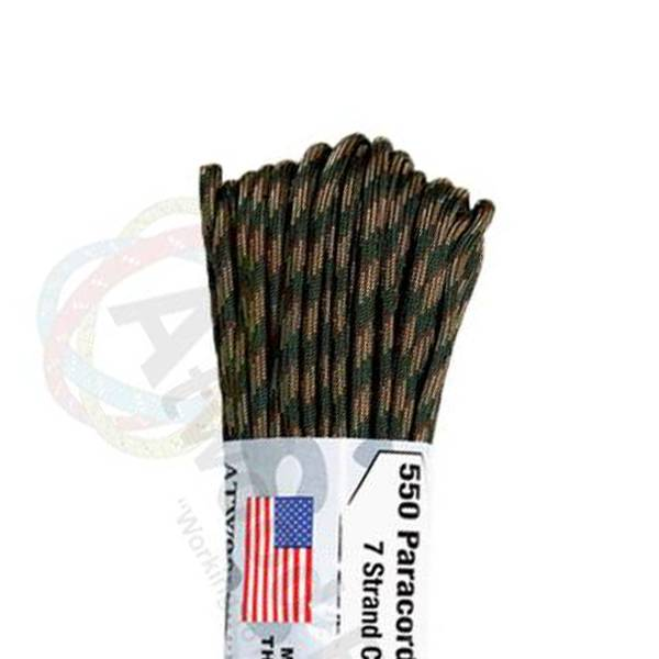 Atwood Rope MFG Atwood Rope MFG 550 Paracord 100ft - Recon