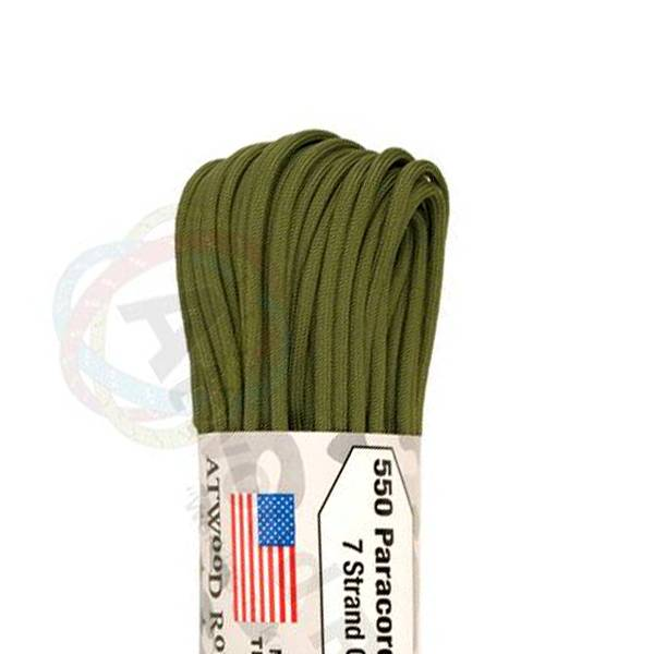 Atwood Rope MFG Atwood Rope MFG 550 Paracord 100ft - Olive Drab