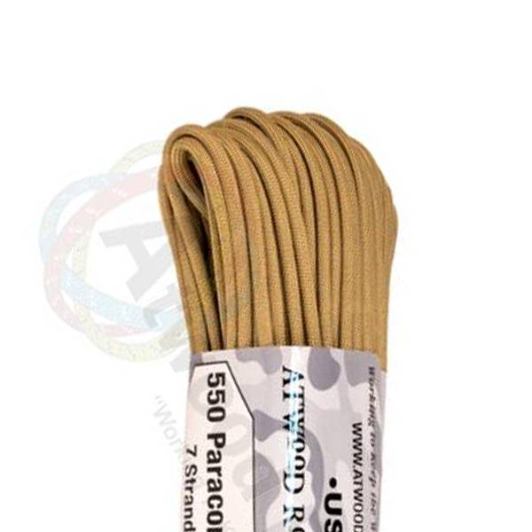 Atwood Rope MFG Atwood Rope MFG 550 Paracord 100ft - Tan