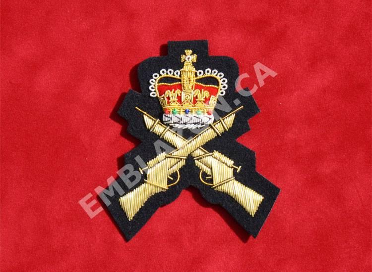 Emblazon Crossed Rifles w/ Crown
