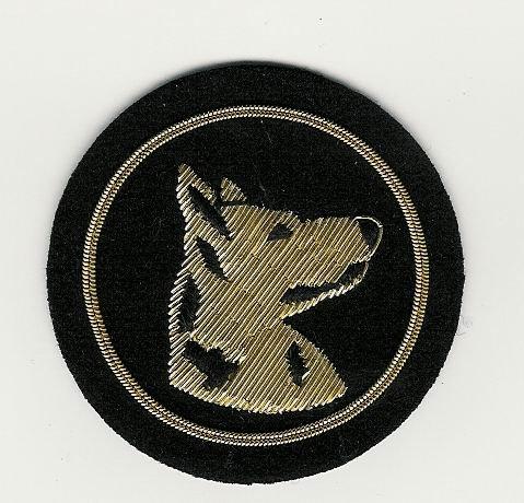 Emblazon Dog Handler - Silver on Blue